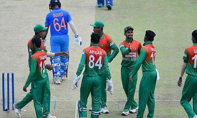 ফাইনালে ভারতকে ১০৬ রানে গুটিয়ে দিলো বাংলাদেশ