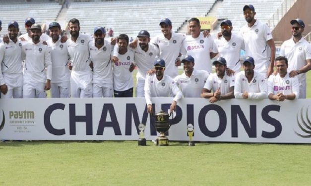 টেস্টে ভারতের নতুন বিশ্ব রেকর্ড