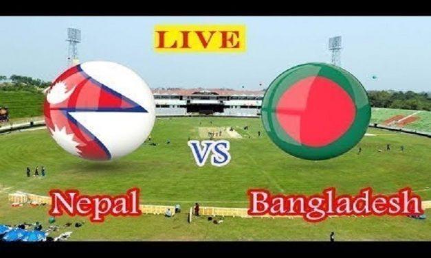 লাইভ দেখুন বাংলাদেশ বনাম নেপাল ফুটবল ম্যাচ