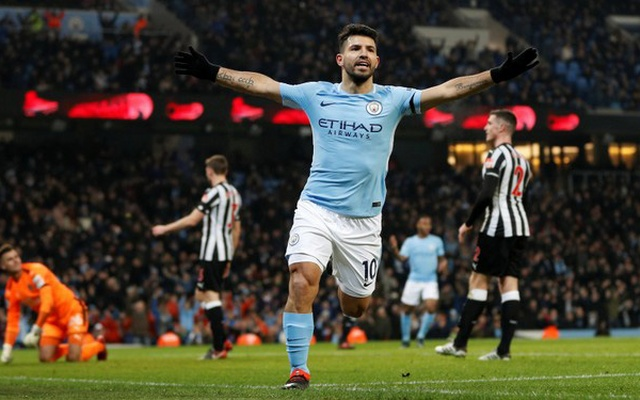 Sergio Aguero, hat-trick, epl, manchester city,