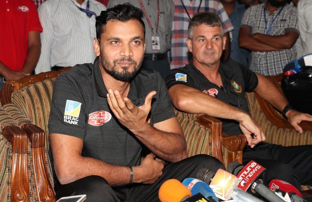 mashrafe bin mortaza,steve rhodes, bd sports news, bd sports, asia cup 2018