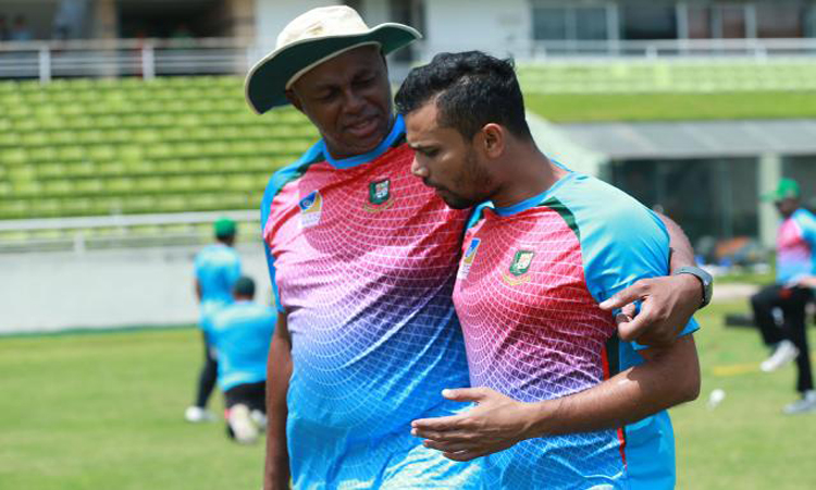 mashrafe bin mortaza, cricket, bangladesh cricket team, courtney walsh